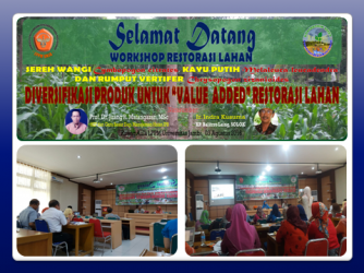 Workshop Restorasi Lahan Bekas Tambang